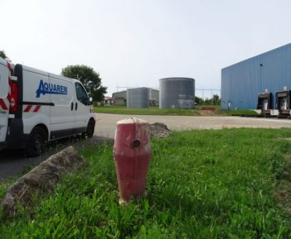 hydeci contrôle de débit poteau incendie; contrôle de débit simultané poteau incendie sur site industriel; sur site logistique
