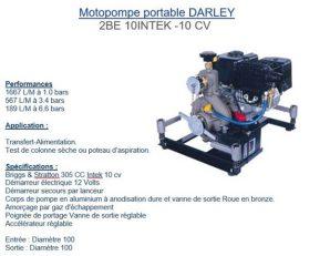 monopompe portable pour création point d'eau naturel ou artificiel