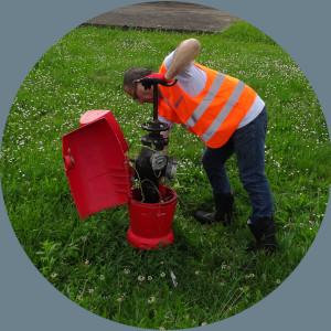 pôle opérationnel hydeci contrôle, maintenance et réparation des poteaux incendie