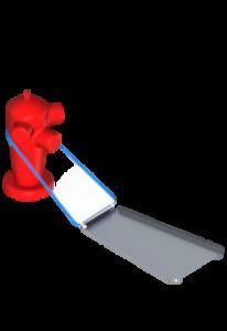 déflecteur pour poteau incendie
