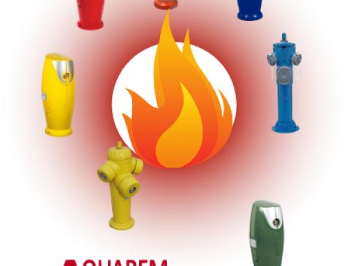 Le code couleur de la défense extérieure contre l'incendie
